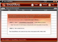 Share DRM Music M4P Converter 2.3.1 screenshot